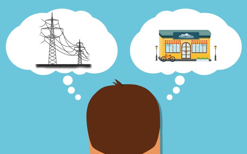 ENERGIA LUCE & GAS: Qual è la differenza tra fornitore e distributore di energia elettrica e del gas?